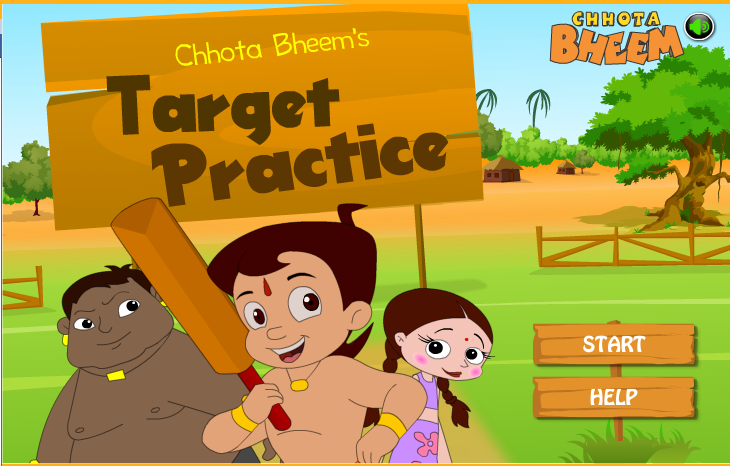 Chota Bheem Bike Racing Games Dholakpur Open Chhota Bheem